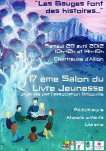 affiche salon livre jeunesse 2012